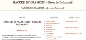 npd-blog defaced