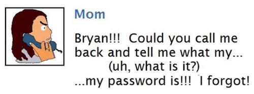 bryans mom
