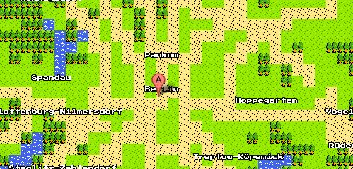 Google Maps 8-bit