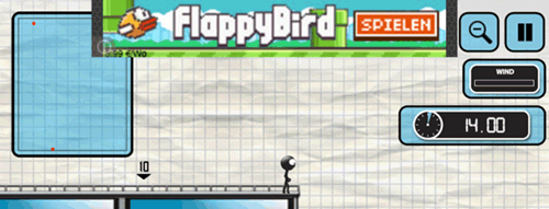 flappy bird ad