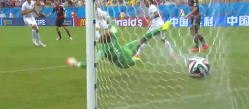 Müller schießt das 1:0