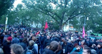 g8 demo berlin