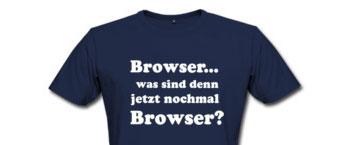 browser shirt