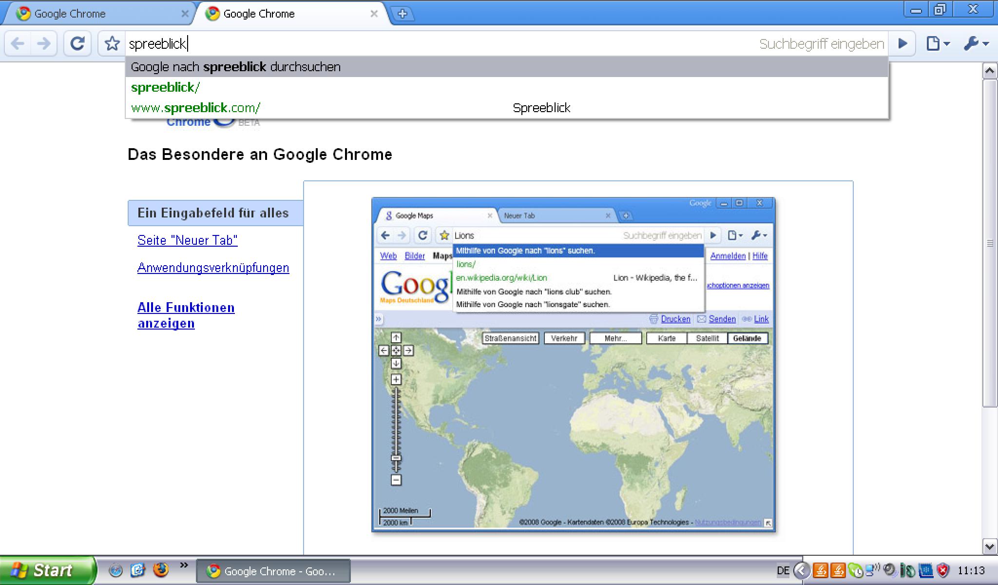 Google-Browser Chrome: Der Browser-Krieg ist vorbei « SPREEBLICK
