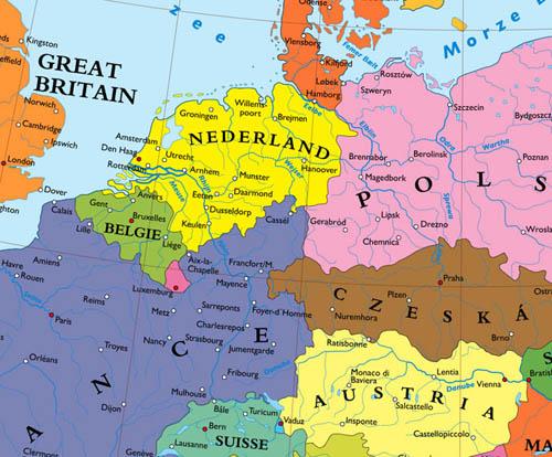 Mitteleuropa ohne Deut...