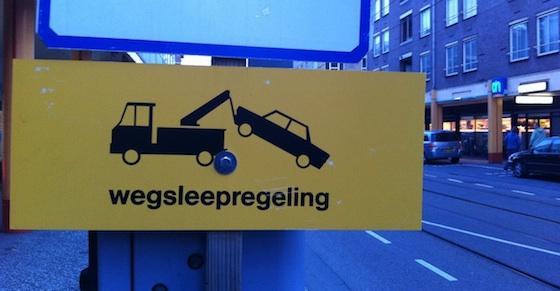 wegsleepregeling